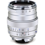 Zeiss Distagon T* 35mm F1.4 ZM Silver Lens with Lens Shade (Used)