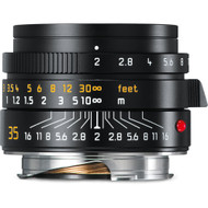 Leica Summicron-M 35mm F2 Asph Black (NEW)