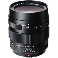Voigtlander 42.5mm F0.95 Nokton Lens for MFT (New)
