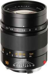 Leica 90mm F2.5 Summarit-M Lens (Used)