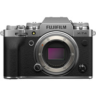 Fujifilm X-T4 Mirrorless Digital Camera Body - Silver (Brand New)