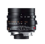 Leica 35mm F1.4 Summilux-M Asph. Lens Black (New)