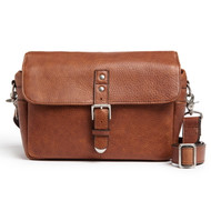 ONA Pebbled Bowery Camera Bag - Walnut (New)