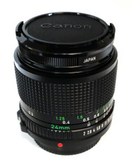 Canon FD 24mm F2 Manual Focus Lens (Used)