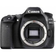 Canon EOS 80D DSLR Body with EF-S 18-55mm IS STM Lens (New)