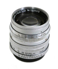 Leica 'Leitz' Summarit 50mm F/1.5 Screw Mount Lens (Used)