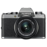 Fujifilm X-T100 Mirrorless Digital Camera with 15-45mm Lens - Dark Silver (New)