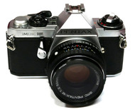 Pentax ME Super Film Camera with 50mm F2 Lens (Used)