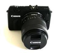 Canon EOS M Black + EF-M 18-55mm IS STM Lens (Used)