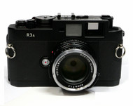 Voigtlander Bessa R3A Body with 40mm F1.4 Nokton M Lens (Used)
