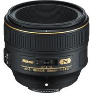 Nikon AF-S Nikkor 58mm F1.4G Lens (New)