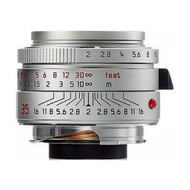 Leica 35mm F2 Summicron-M Asph Lens (Silver) *New