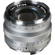 Zeiss C Sonnar T* 50mm F1.5 ZM Lens - Silver (New)