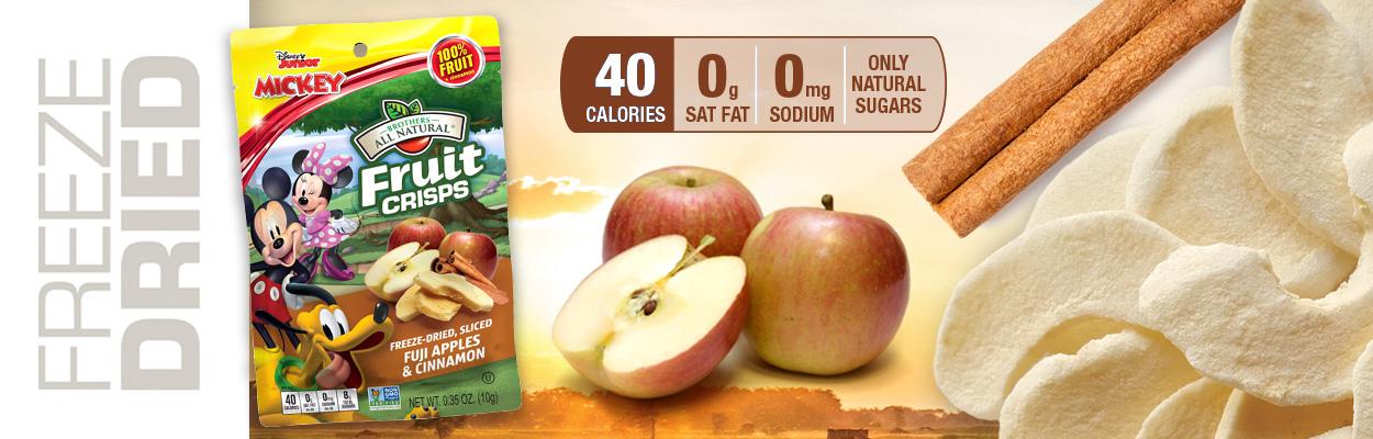 Disney Apple-Cinnamon Fruit Crisps