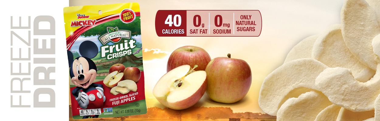Disney Fuji Apple Fruit Crisps