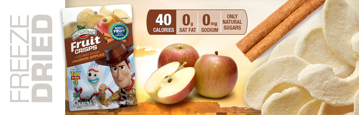 Online Exclusive! Disney Toy Story Apple-Cinnamon Fruit Crisps!