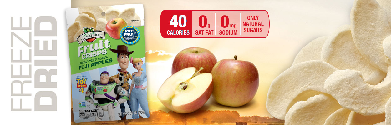 Online Exclusive! Disney Toy Story Fuji Apple Fruit Crisps!