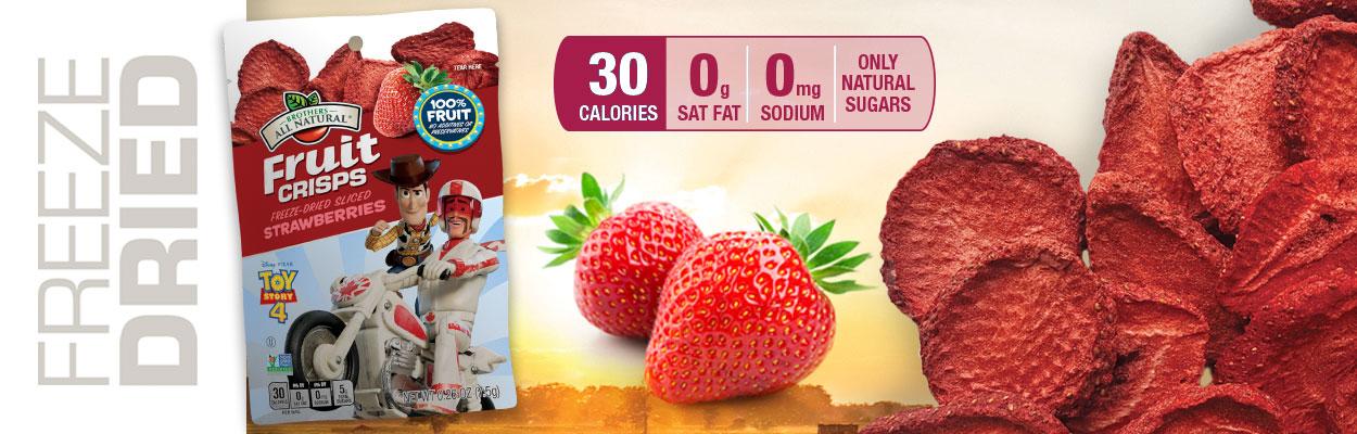 Online Exclusive! Disney Toy Story Strawberry Fruit Crisps!