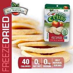 Freeze Dried Fruit Fuji Apple Crisps nutrition