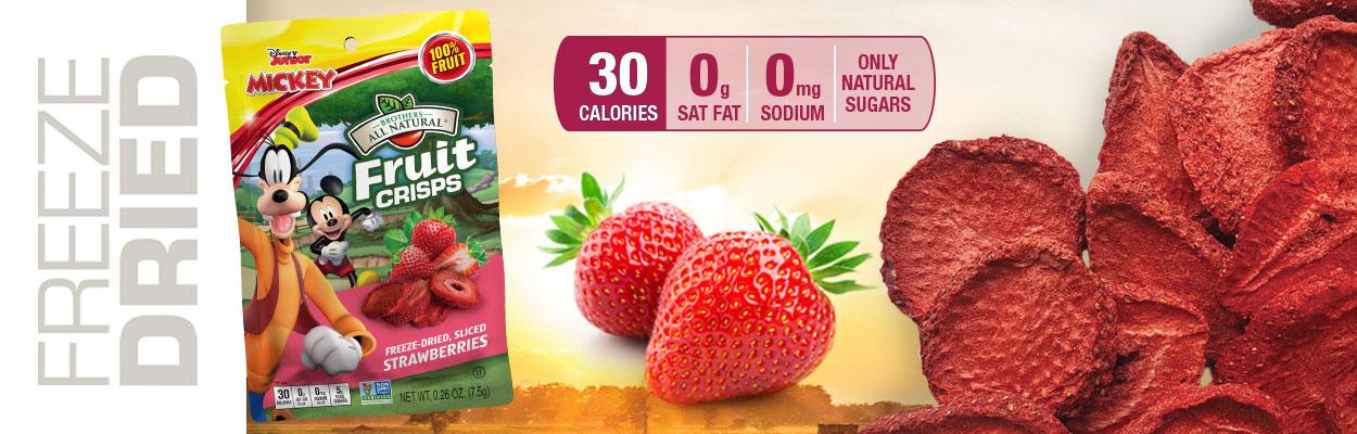 Disney Strawberry Fruit Crisps