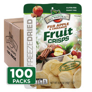 Apple-Cinnamon Fruit Crisps 100-pack
