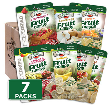 Brothers All Natural Fruit Crisps Sampler Pack