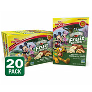 Disney Mixed Apple Fruit Crisps 20-pack