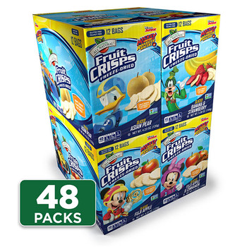 Disney Variety Fruit Crisps 48-pack