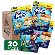 Disney Sampler Fruit Crisps 20-pack