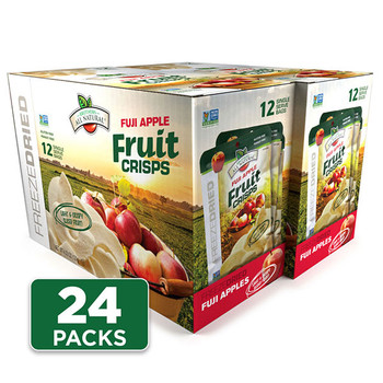 Fuji Apple Freeze Dried Fruit Crisps 24-pack