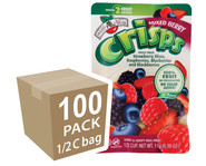 Brothers-All-Natural Mixed Berry Fruit Crisps, 1/2 c bags, 100-pack