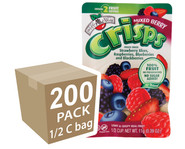 Brothers-All-Natural Mixed Berry Fruit Crisps, 1/2 c bags, 200-pack