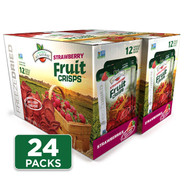 Freeze Dried Strawberry Fruit Crisps 24-pack