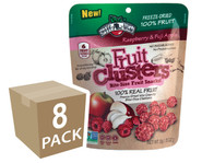 Raspberry Apple Fruit Clusters®, All natural freeze-dried fruit