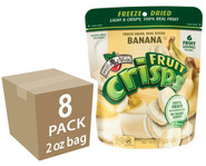Banana Fruit Crisps, 2 oz. bags, 8-pack