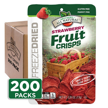 Strawberry Fruit Crisps 200-Pack