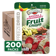 Strawberry-Banana Fruit Crisps, 1/2 c bags, 200-pack