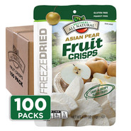 Asian Pear Fruit Crisps 100-pack