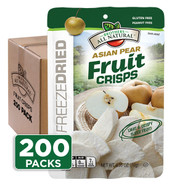 Brothers-All-Natural Asian Pear Fruit Crisps, 1/2 c bags, 200-pack