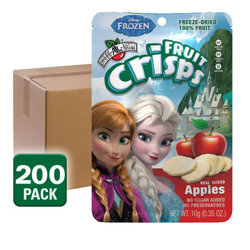 Disney Frozen freeze dried Fuji Apple Crisps 1/2 cup, 200 pack