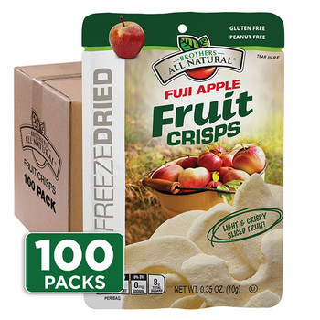 Fuji Apple Fruit Crisps 100-pack