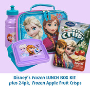 Disney Frozen Lunch Box Kit, 24 pack