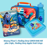 Finding Dory freeze dried apple lunch box kit, 24 pack