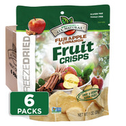 1oz. Apple Cinnamon Fruit Crisps 6-pack