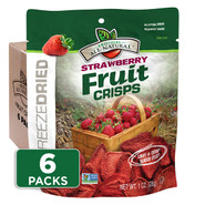 1 oz. Strawberry Fruit Crisps 6-pack