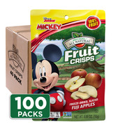Disney Fuji Apple Fruit Crisps 100-pack