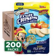 Mickey Mouse Fuji Apple Fruit Crisps 200-pack