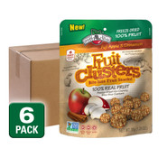 Freeze Dried Apple Cinnamon Fruit Clusters, 6 pack