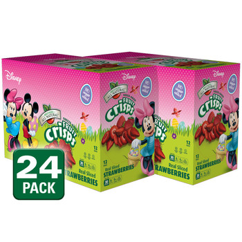 Freeze Dried Disney Minnie Mouse Strawberries, 24 pk