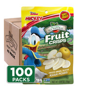 Disney Asian Pear Fruit Crisps 100-pack